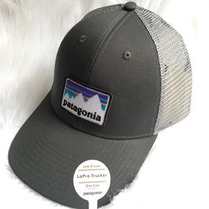 New Patagonia trucker lowpro hat